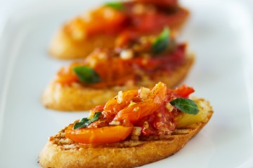 Slow-roasted Tomato Bruschetta