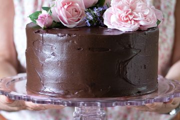 Chocolate & Beetroot Cake – recent work