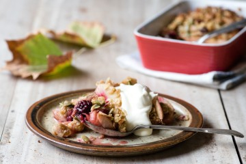 Fruity Anzac Biscuits & Autumn Anzac Crumble